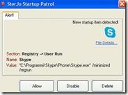 Ricevere notifica quando un programma si aggiunge all'avvio automatico di Windows e disabilitarlo