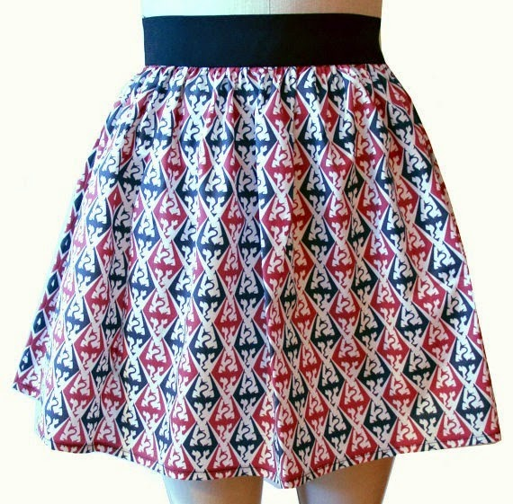 Skyrim Dragons Skirt from Go Follow Rabbits