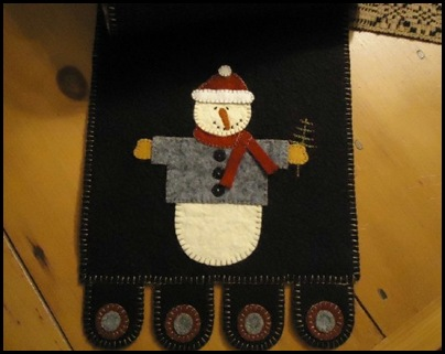 Snowman runner closeup website