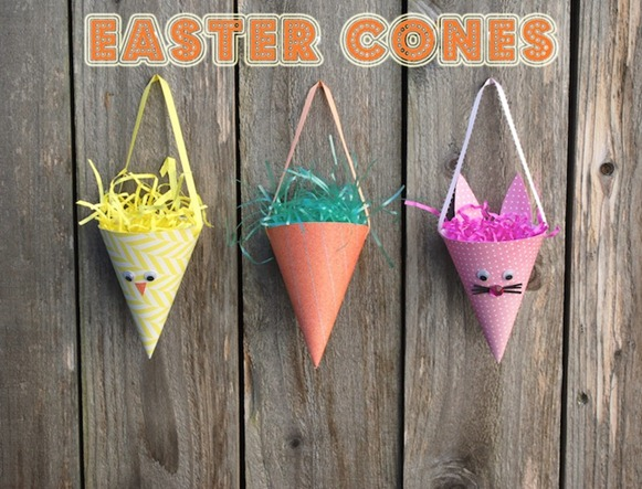 easter cones
