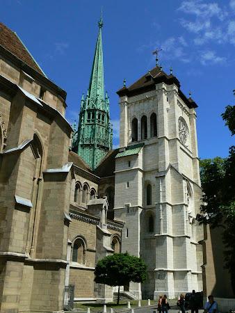 Obiective turistice Geneva: Catedrala St. Pierre