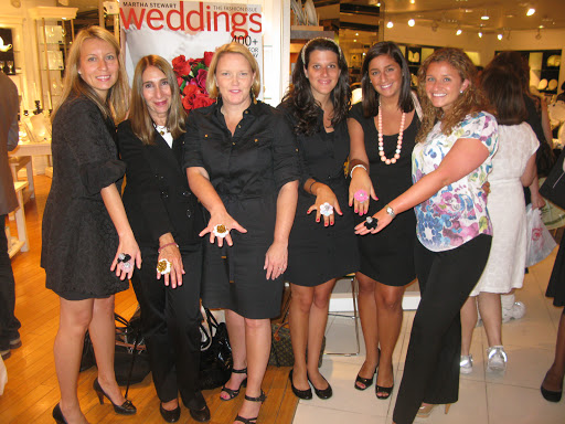 The Weddings publishing team. Laura Boberg, Denise Silveberg, Amy Wilkins, Dara Rice, Abigail Breene and Melissa Goolnick