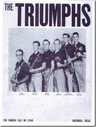 TRIUMPHS photo 1960 scan