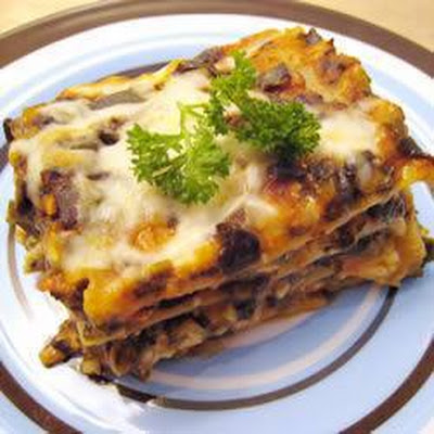 Easy Spinach Lasagne
