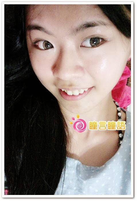 韓國GEO隱形眼鏡-花漾咖6