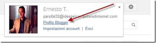 profilo blogger