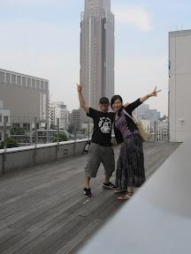 Starbucks day near Shinjuku with Yukiko :D !!!