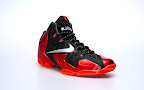 nike lebron 11 gr black red 2 03 New Photos // Nike LeBron XI Miami Heat (616175 001)