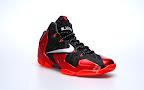 nike lebron 11 gr black red 2 03 New Photos // Nike LeBron XI Miami Heat (616175 001)