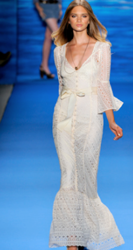 This Tory Burch Spring 2011 look is perfect for an outdoor party on a hot day (www.toryburch.com).