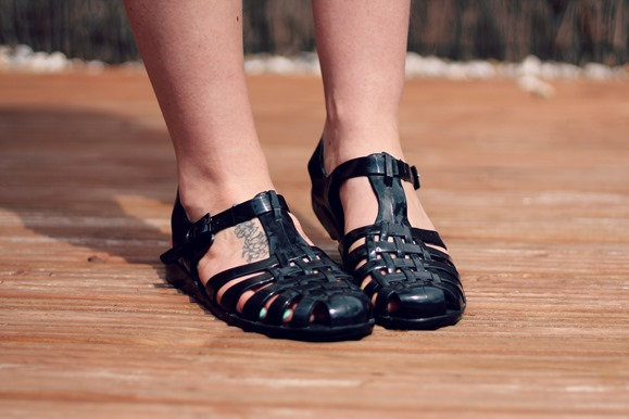 new look jelly shoes asos