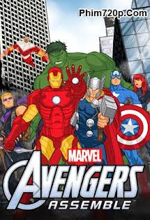 Anh Hùng Hội Tụ :Phần 1 - Avengers Assemble (Season 1) Tập 26-End