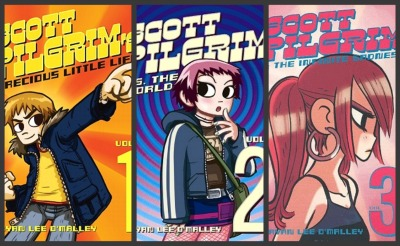 Scott pilgrim covers 1 through 3