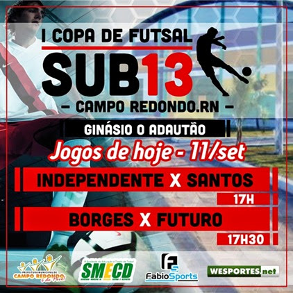 I COPA SUB13 2014 - banner