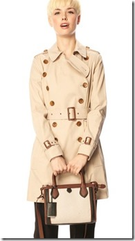 French Connection Cotton Trench Coat