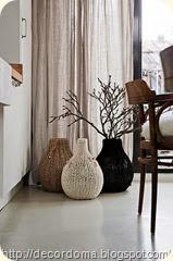 Декорируем вазу в этническом стиле своими руками
