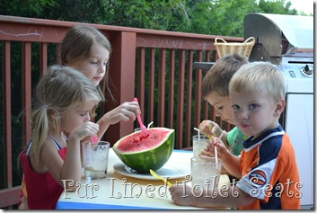 rootbeer floats and watermelon 005