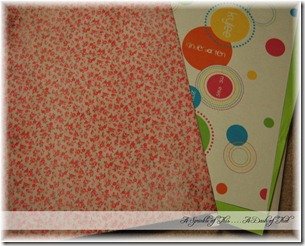 School Paper Organization Folders {A Sprinkle of This . . . . A Dash of That}