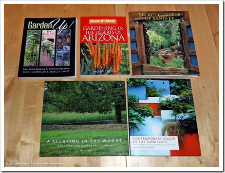 Gardening books at closeout prices