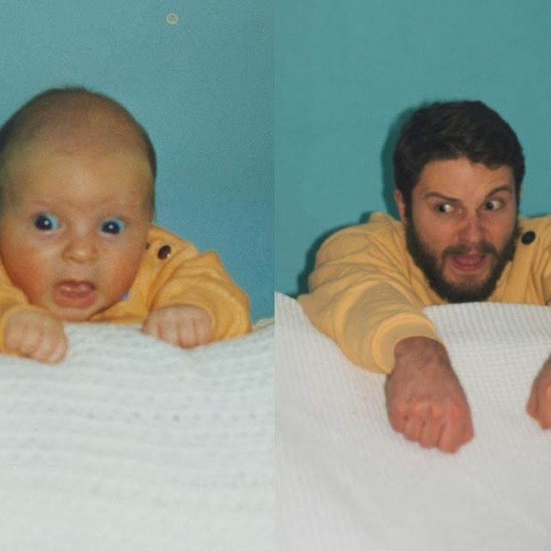 Two Brothers' Hilarious Recreation of Old Childhood Photos
