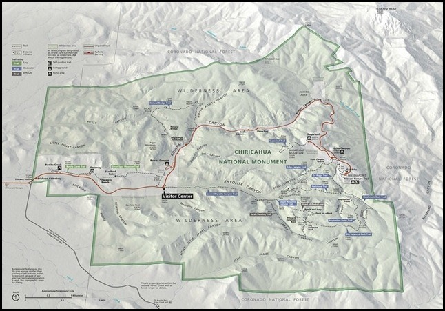 Chiricahua Map