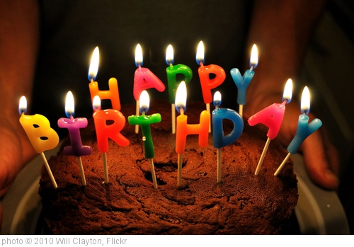 'Birthday Cake' photo (c) 2010, Will Clayton - license: http://creativecommons.org/licenses/by/2.0/