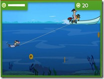 jogos de nadar mergulho com barco