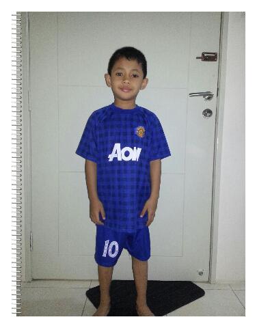 Azfar minat kelab Manchester United