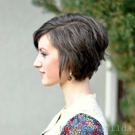 Maybe Matilda: Haircut Pictures and Pixie Cut Growth