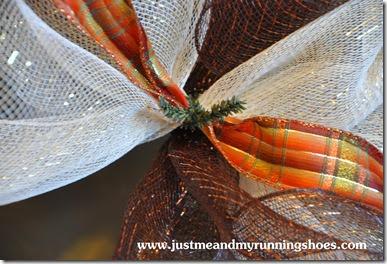 Deco Mesh Wreath 13