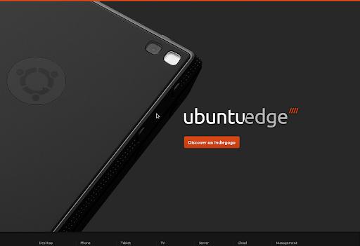Ubuntu Home Page - Ubuntu Edge