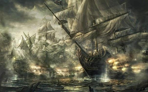 Batalha de piratas