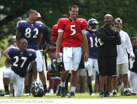 'Ray Rice and Joe Flacco' photo (c) 2009, Keith Allison - license: http://creativecommons.org/licenses/by-sa/2.0/