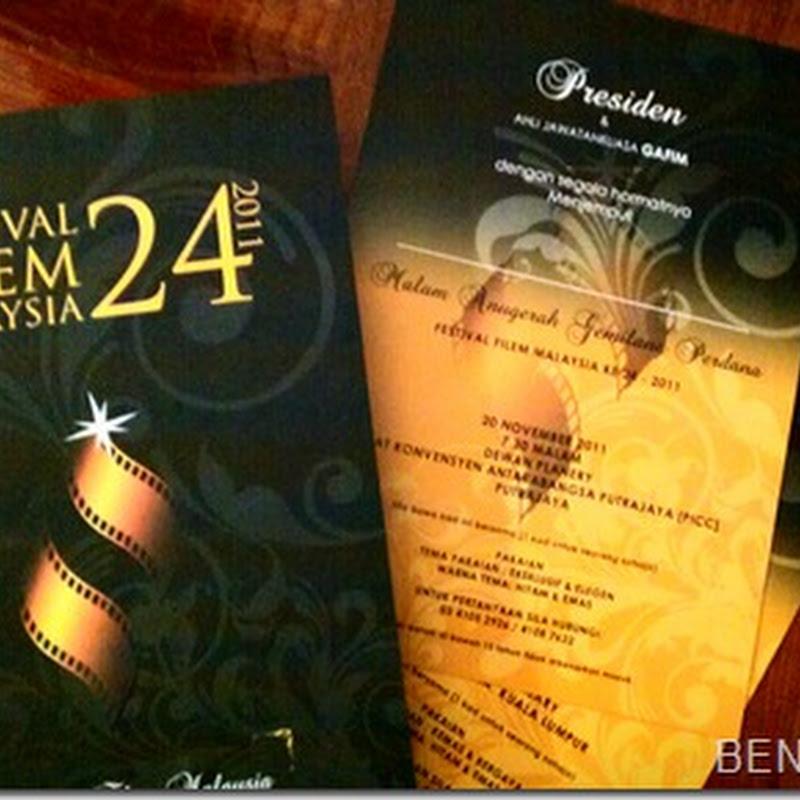 Jemputan ke FESTIVAL FILEM MALAYSIA ke 24