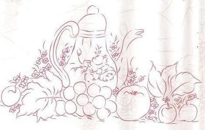 bule e frutas riscos
