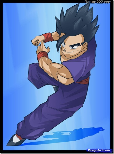 how-to-draw-son-gohan
