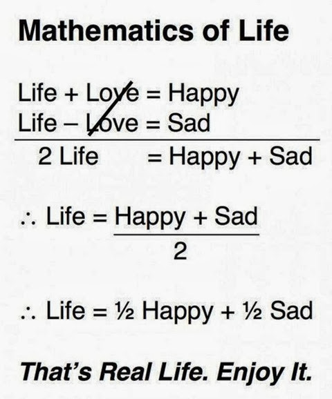Математика о жизни…