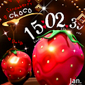 Strawberry Choco LiveWallpaper icon