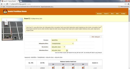 Mengawal Suara Rakyat Melalui Website KPU
