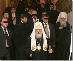 ФСО охраняет патриарха Кирилла