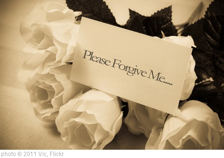 'Asking For Forgiveness' photo (c) 2011, Vic - license: http://creativecommons.org/licenses/by/2.0/