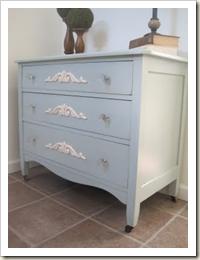 Misty Blue Dresser