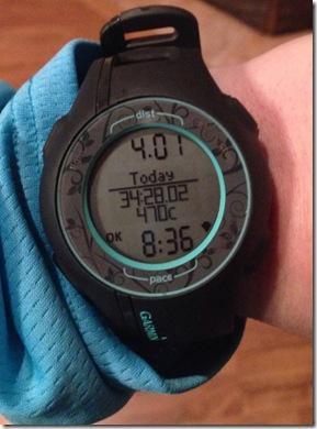 Foru Mile Run