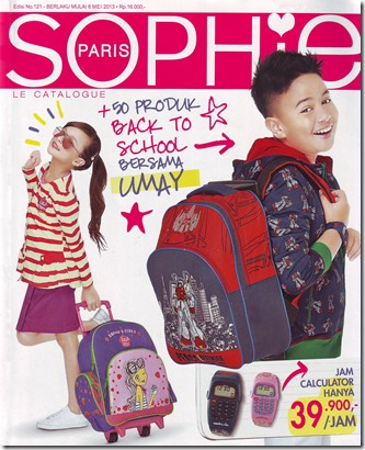 Katalog Sophie Martin Paris Edisi Mei 2013