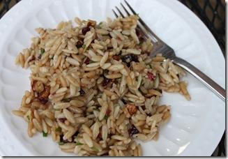 Cranberry Pecan Orzo Salad 012