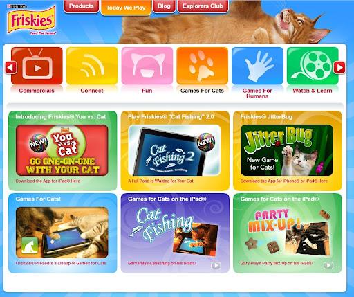 [App] 貓咪也能玩APP?貓咪食品公司「Friskies」推出一系列貓咪遊戲免費下載!