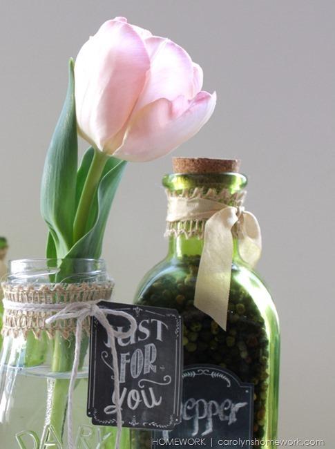 Chalkboard Label Jars via homework | carolynshomework.com