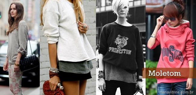 casacos para o inverno moletom moda feminina