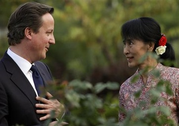 British-PM-Suu-Kyi-back-suspension-of-Myanmar-sanctions