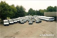 Het wagenpark anno 2008.